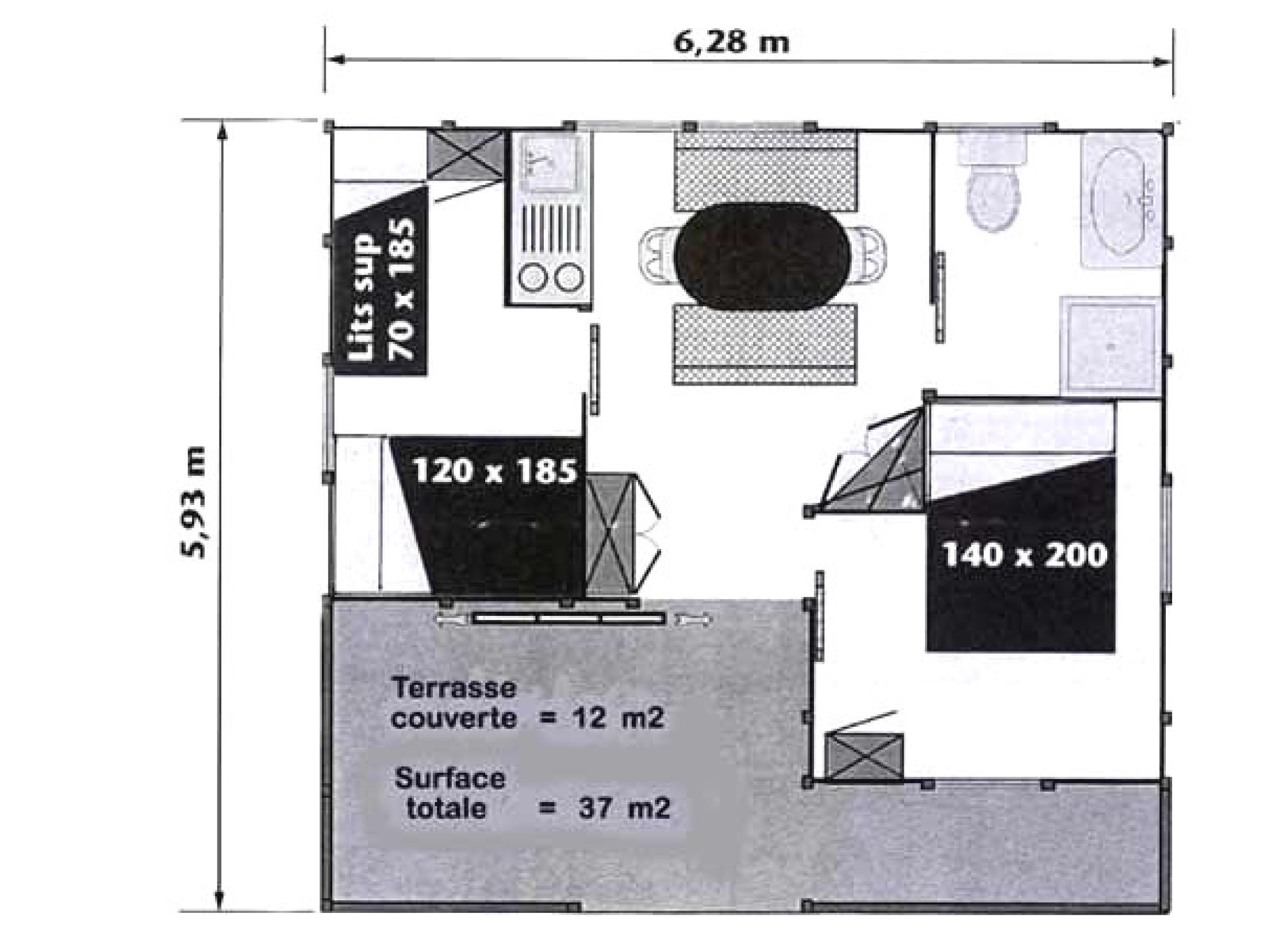 Plan Cottage